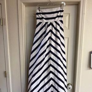 Jessica Simpson Chevron Maternity Dress S